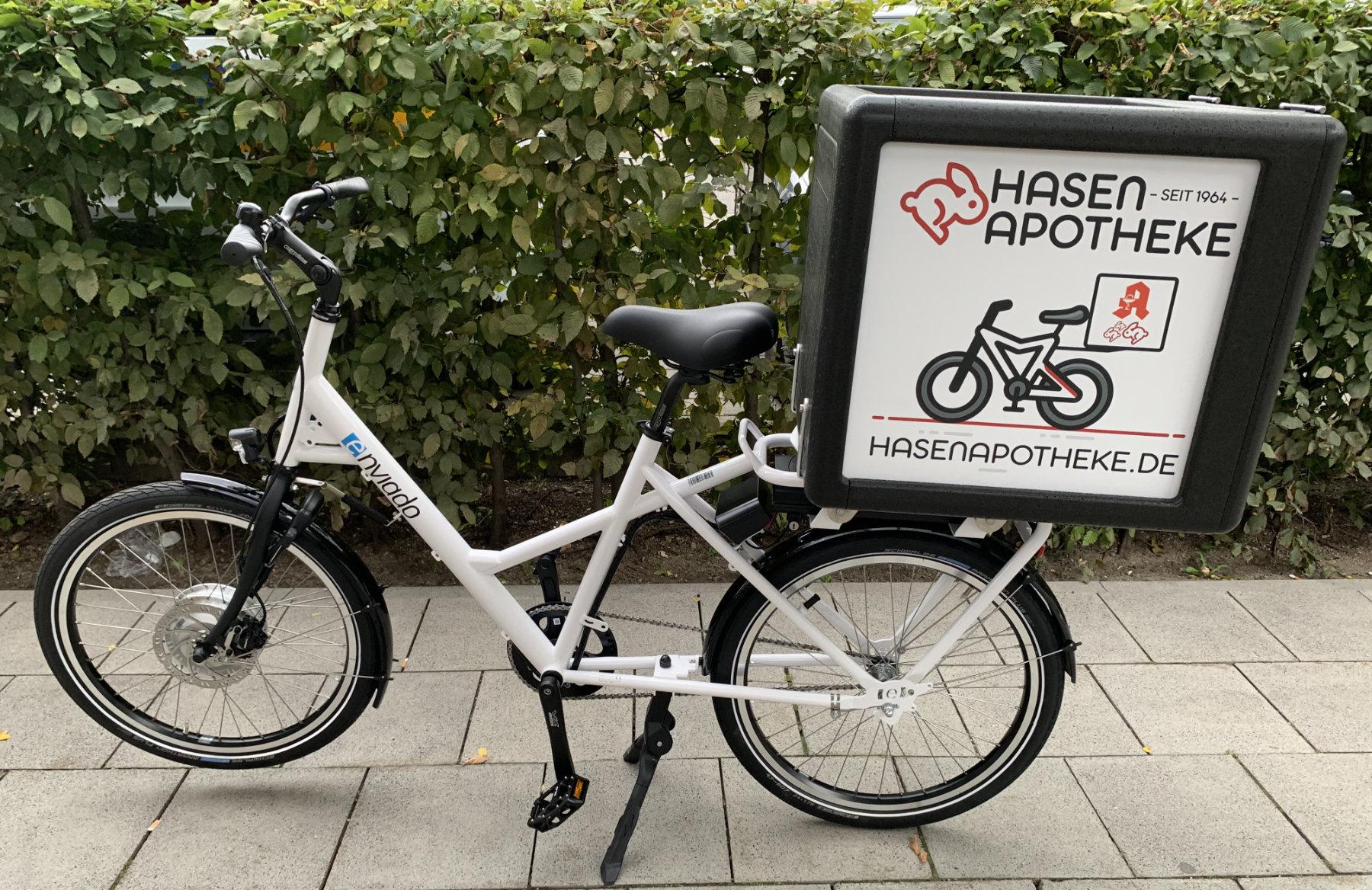 NEU: Klimafreundlicher Botendienst per E-Bike